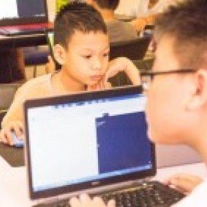 StepIT Cambodia coding kids!